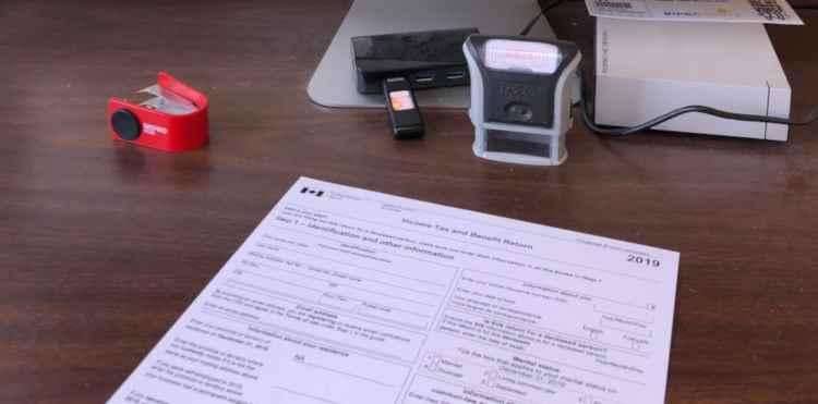 canada revenue agency tax return for 2019