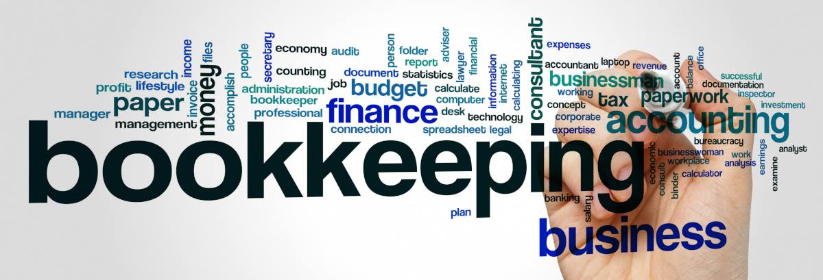 bookkeeping word cloud